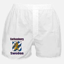 Gothenburg Sweden Boxer Shorts