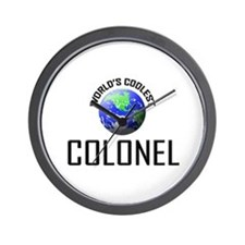 World's Coolest COLONEL Wall Clock