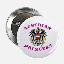 "Austrian Princess 2.25"" Button"