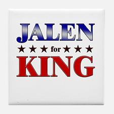 JALEN for king Tile Coaster