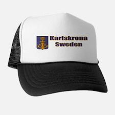 Karslskrona Sweden Gifts, Clo Trucker Hat