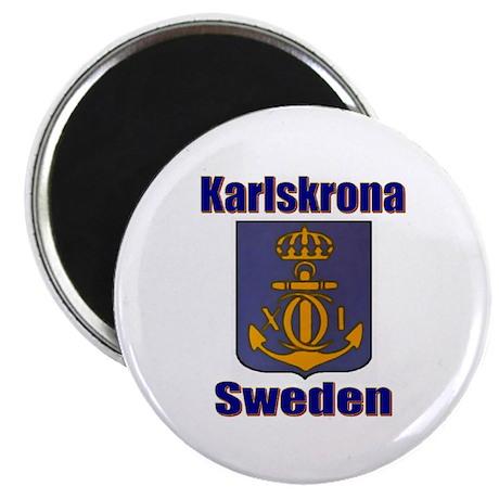 """Karslskrona Sweden Gifts, Clo 2.25"""" Magnet (10 pac"""