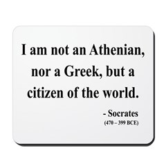 Socrates 10 Mousepad
