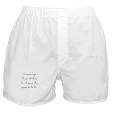 70th birthday math Boxer Shorts