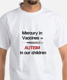 Mercury in Vaccines Shirt