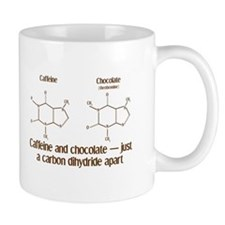Caffeine & Chocolate Small Mugs