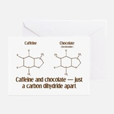 Caffeine & Chocolate Greeting Cards (Pk of 10)