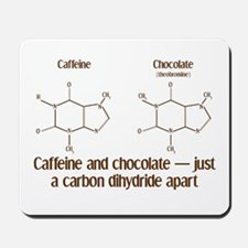 Caffeine & Chocolate Mousepad