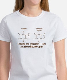 Caffeine & Chocolate Women's T-Shirt