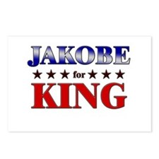 JAKOBE for king Postcards (Package of 8)