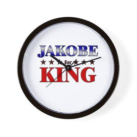 JAKOBE for king Wall Clock