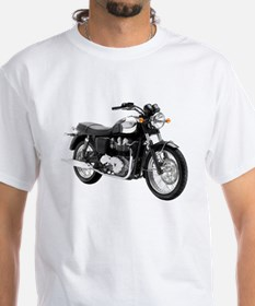 Triumph Bonneville Green/White #1 Shirt