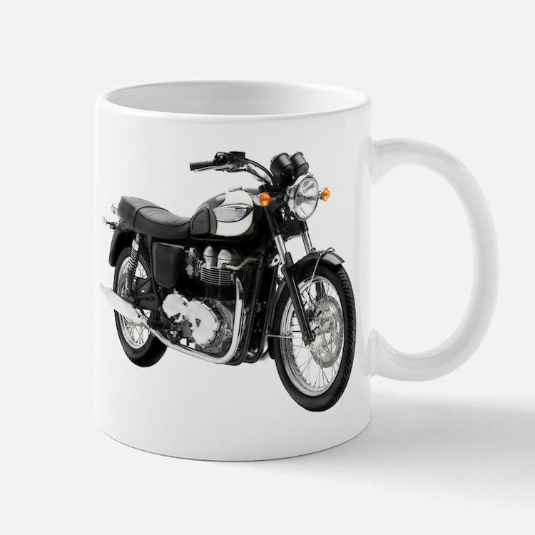 Triumph Bonneville Green/White #1 Small Small Mug