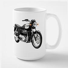 Triumph Bonneville Green/White #1 Large Mug