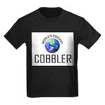 World's Coolest COBBLER Kids Dark T-Shirt