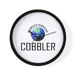 World's Coolest COBBLER Wall Clock