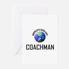 World's Coolest COACHMAN Greeting Cards (Pk of 10)