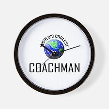 World's Coolest COACHMAN Wall Clock