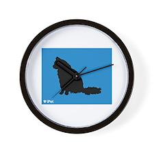 Angora iPet Wall Clock