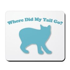 Manx, Tailless Cat Mousepad