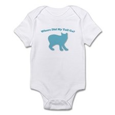 Manx, Tailless Cat Infant Bodysuit