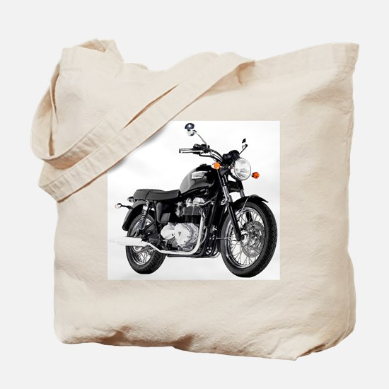 Triumph Bonneville Black #1 Tote Bag