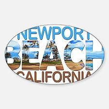 Summer newport- california Decal