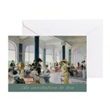 Afternoon tea Greeting Cards (10 Pack)