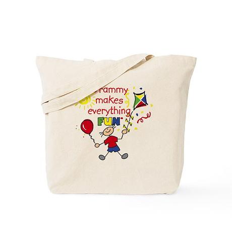 Grammy Fun Boy Tote Bag