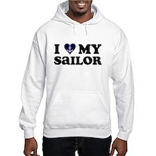 I Love My Sailor Jumper Hoody