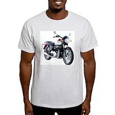 Triumph Bonneville White/Red T-Shirt