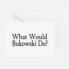 What Would Bukowski Do? Greeting Cards (Pk of 20)
