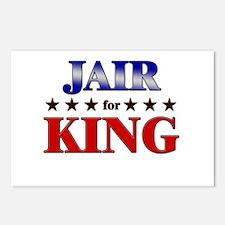 JAIR for king Postcards (Package of 8)
