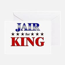 JAIR for king Greeting Card