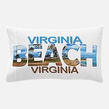 Summer virginia beach- virginia Pillow Case
