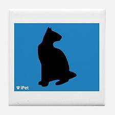 Siamese iPet Tile Coaster