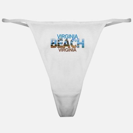 Summer virginia beach- virginia Classic Thong