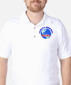 World's Greatest Buyer (E) Golf Shirt