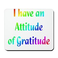 Gratitude Mousepad