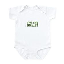 Raw Food Specialist Infant Bodysuit