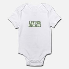 Raw Food Specialist Infant Bodysuit
