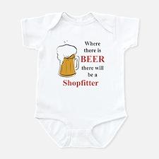 Shopfitter Infant Bodysuit