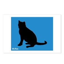 Blue iPet Postcards (Package of 8)