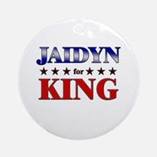 JAIDYN for king Ornament (Round)