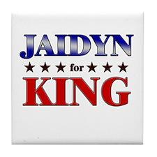 JAIDYN for king Tile Coaster
