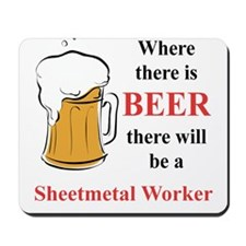 Sheetmetal Worker Mousepad