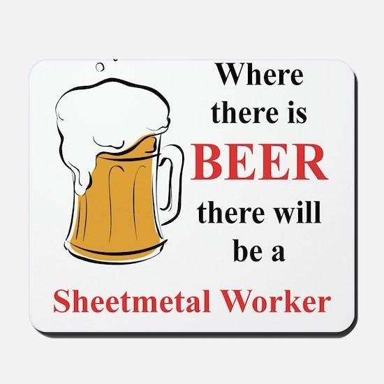 Sheetmetal Worker Mousepad