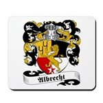 Albrecht Family Crest Mousepad