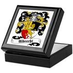 Albrecht Family Crest Keepsake Box