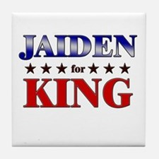 JAIDEN for king Tile Coaster